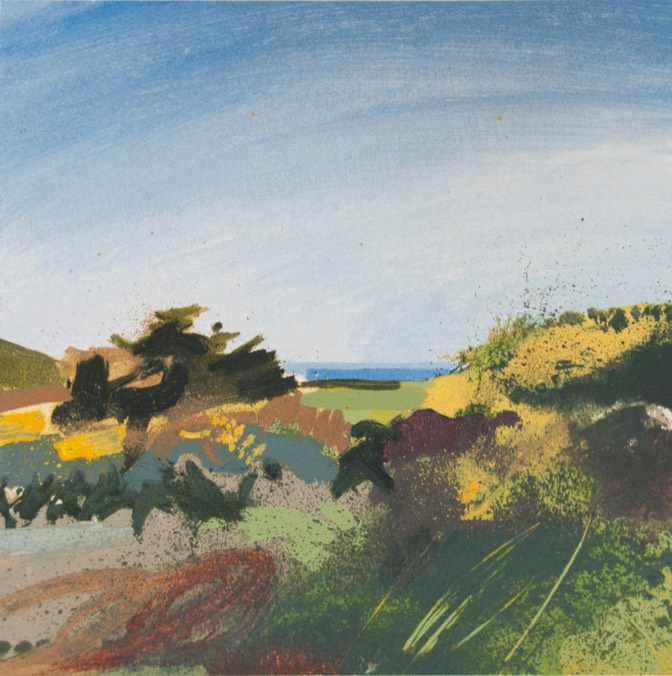 Lucie Bray Towards the Sea From Halsetown PRINT LB2